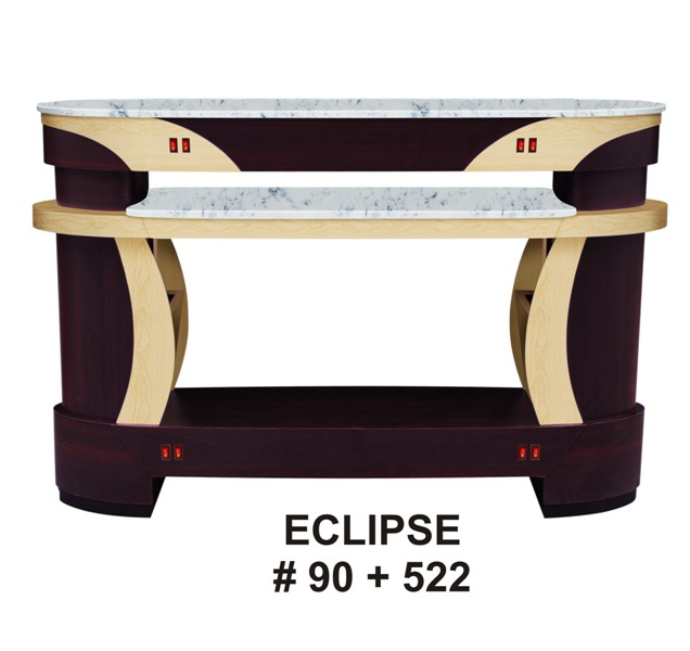 ECLIPSE NAIL DRYER # 90 + 522 W