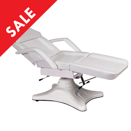 Facial Bed Hydraulic D3669 (White)