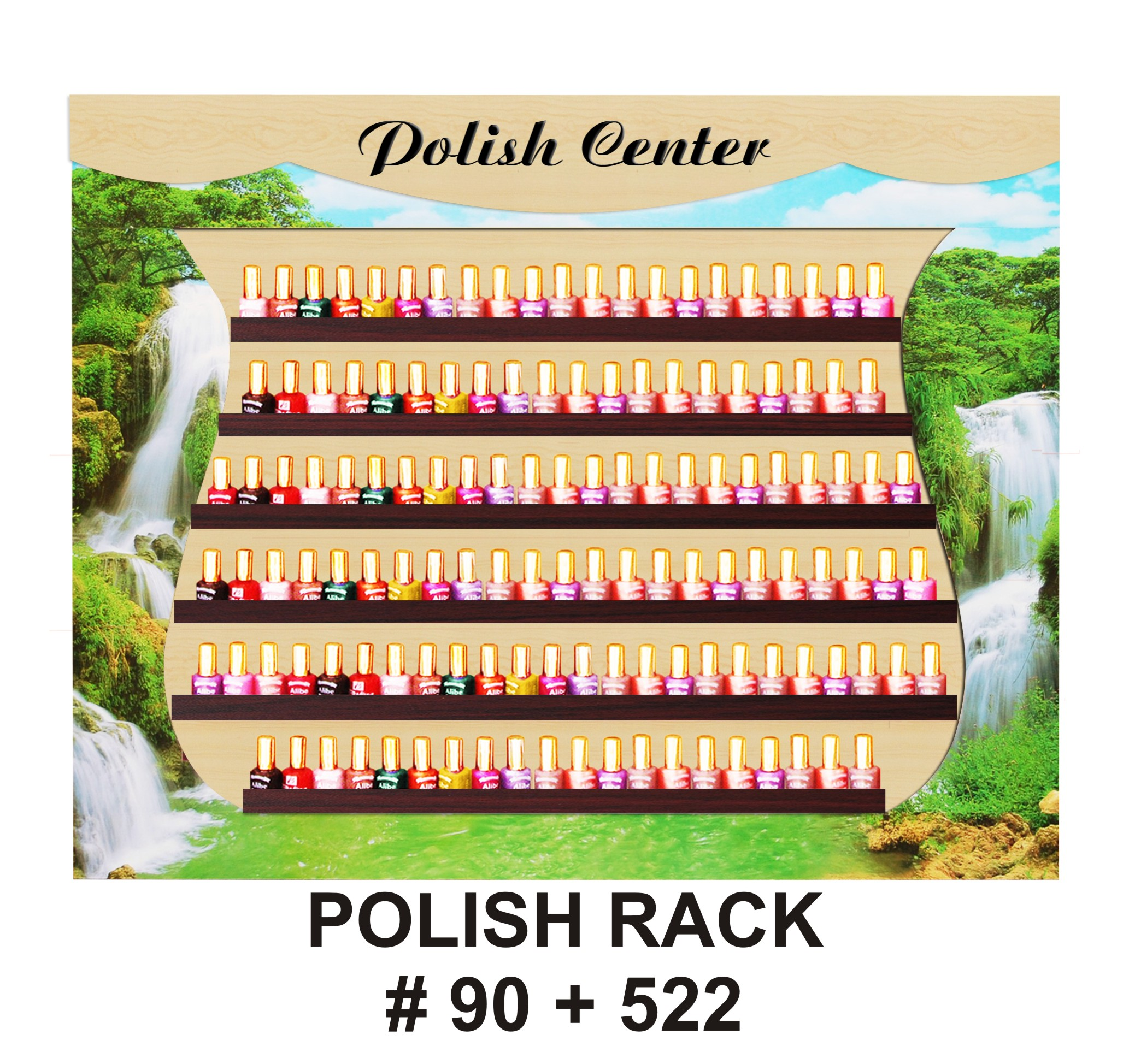 POLISH RACK WATER FALLS # 90 + 522
