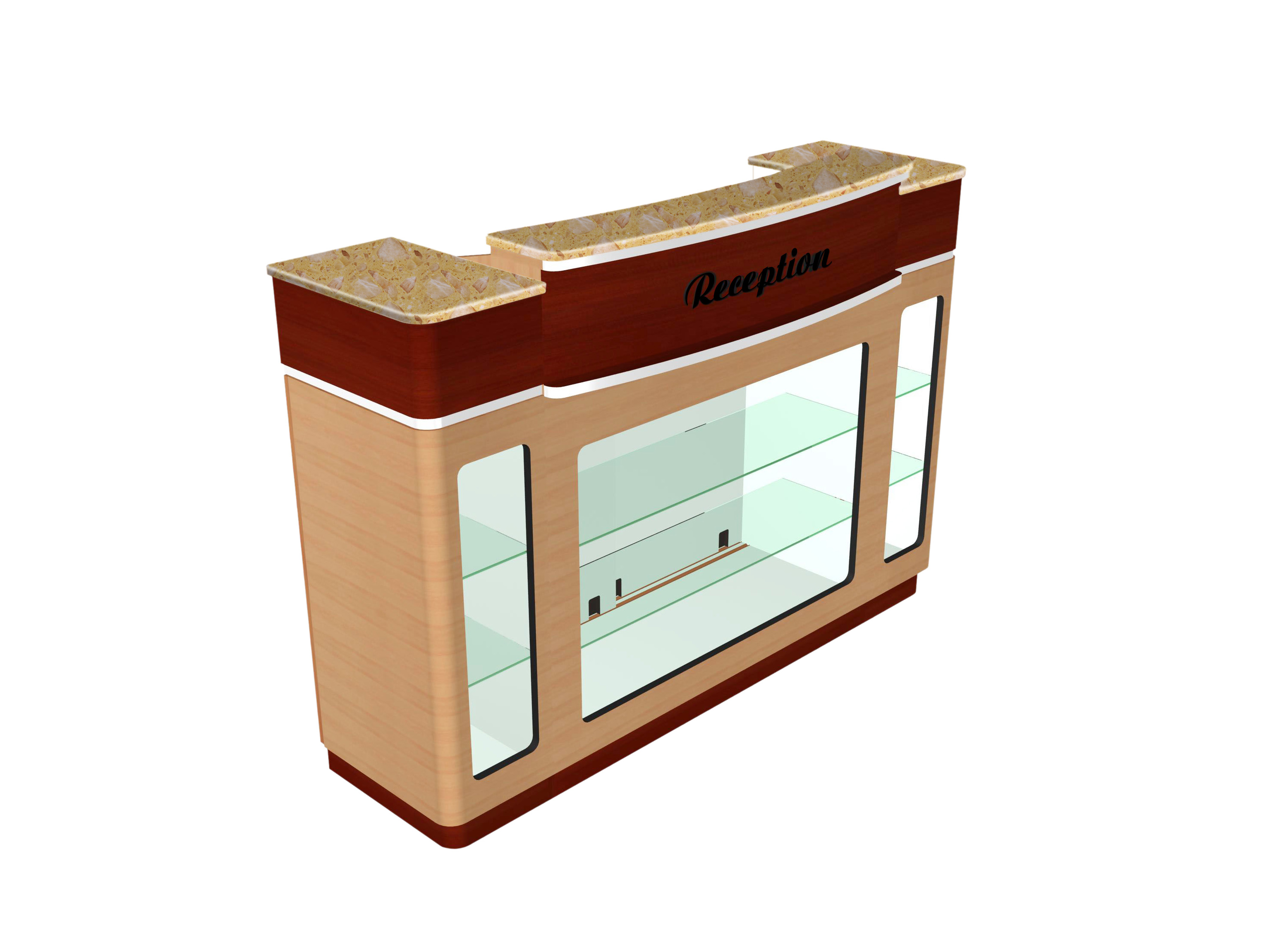 RECEPTION COUNTER STAR (283+925)