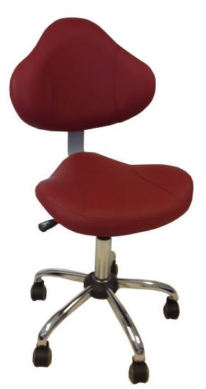 Tech Chair TC001 - Bright Burgundy